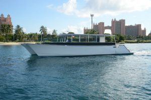 Tour of Nassau harbor with views of Paradise Island and Atlantis